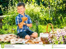 Cute-kid-boy-having-picnic-garden-54957242.jpg